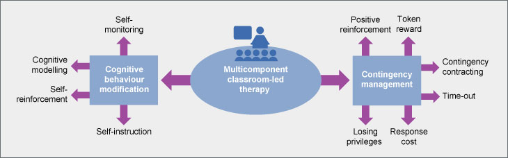 Multicomponent classroom-led behavioural therapy programme for the treatment of children with ADHD