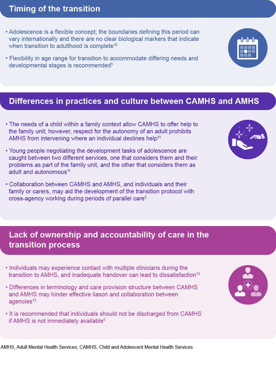 NICE guidelines (2016) on transition to UK adult services – a summary of guidance